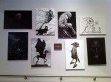 Harry Potter Studio Tour London concept art paintings by Rob Bliss image