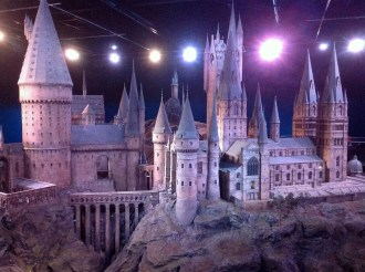 Harry Potter Studio Tour London Hogwarts Scale Model image
