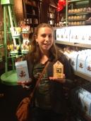 Harry Potter Studio Tour London gift shop chocolate frogs Bertie Botts Every Flavor Beans