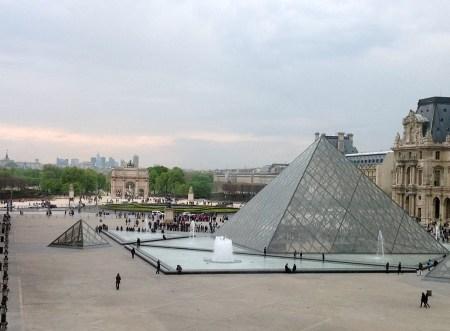 Paris Louvre Pyramids image