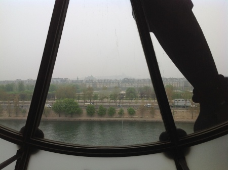 Paris Musee D'Orsay view of river Seine image