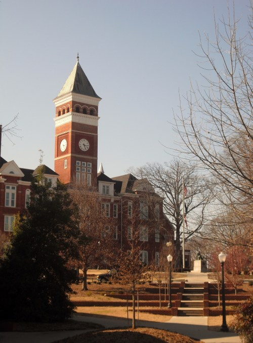 Probably the most recognized building on campus, Tillman Tower.