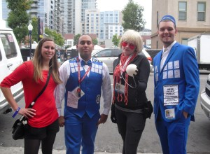 San Diego Comic Con The Doctor Who fan meetup cosplay image