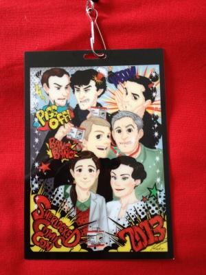 San Diego Comic Con SherlockeDCC badge image