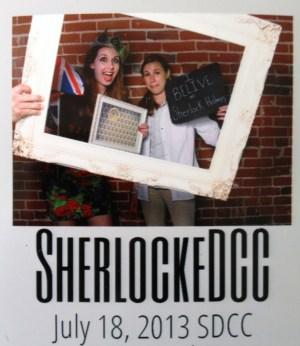 San Diego Comic Con SherlockeDCC photobooth image