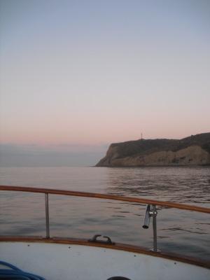 san diego point loma ocean sunrise image