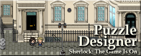 Sherlock the Game is On puzzle designer banner image