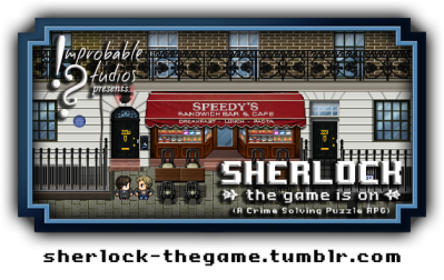Improbable Studios presents Sherlock the Game is On RPG image