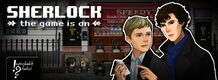 Sherlock The Game is On Improbable Studios header image