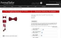 Formal Tailor red bow tie order image - Doctor Who Eleven Cosplay