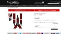 Formal Tailor Red Y-Braces Suspenders order image - Doctor Who Eleven Cosplay