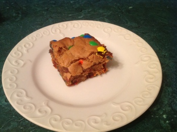Peanut Butter M&M Bars image