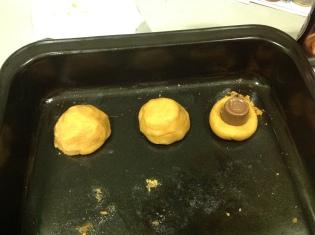 Rolo-Stuffed Peanut Butter Cookies image