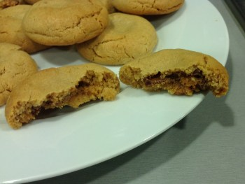 Rolo-Stuffed Peanut Butter Cookies image