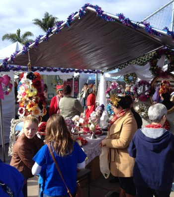 Flower Crowns artisans-alley-san-diego-2013-holiday-market6