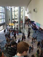 Wondercon 2014 Anaheim convention center