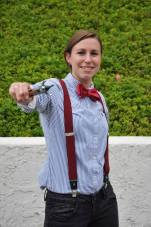 Wondercon 2014 brookenado Eleven cosplay Doctor Who photo by thenerdygirlie