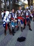 Wondercon 2014 cosplay Assassins Creed