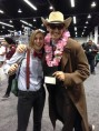 Wondercon 2014 cosplay Doctor Who Ten, Eleven brookenado
