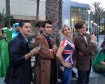 Wondercon 2014 cosplay Doctor Who group The Adventure Effect