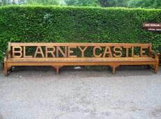 Blarney Castle bench Cork, Ireland