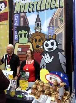 SDCC comic-con 2014 Rebecca Hicks Little Vampires, Monsterdell