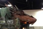 SDCC comic-con 2014 Smaug display The Hobbit