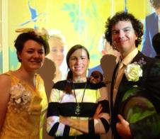 SherlockeDCC 2014 Molly Hooper, John Watson, Sherlock weddinglock cosplay tumblr almostcanon, seelingcat, & brookenado