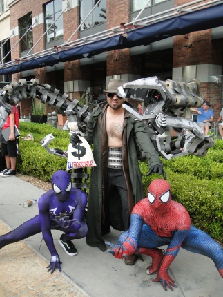 SDCC Comic-Con 2014 Spiderman cosplay