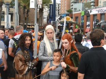 SDCC Comic-Con 2014 LoTR Hobbit cosplay
