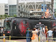 SDCC Comic-Con 2014 Agents of Shield trolley