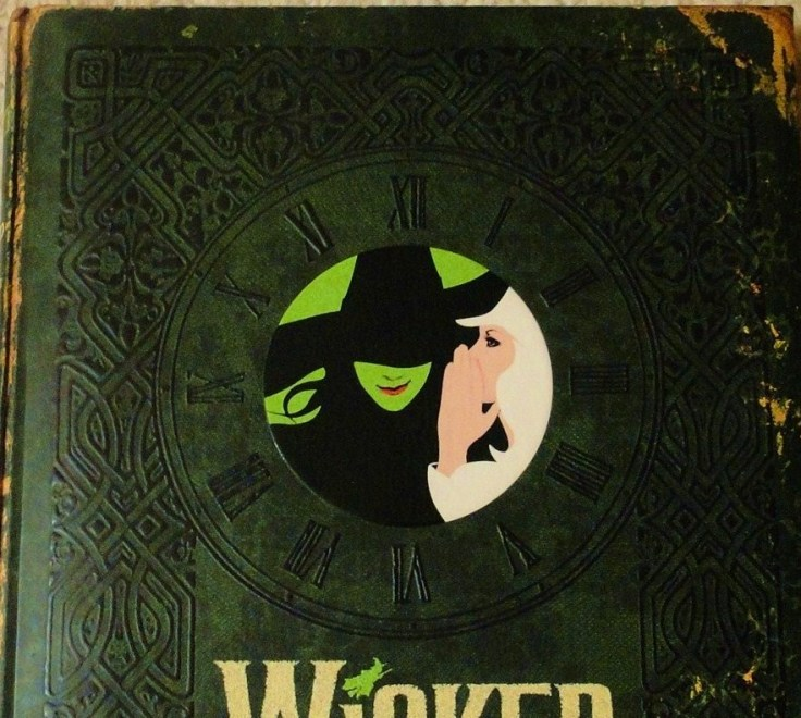 Wicked musical Grimmerie cover, Elphaba and Glinda