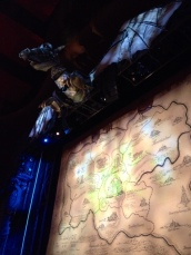 Clock of the Time Dragon and Oz map - the stage was set (and right there!)