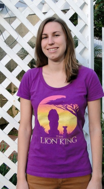 Disney Lion King shirt Simba and Mufasa