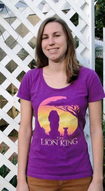 Disney Lion King shirt Simba and Mufasa