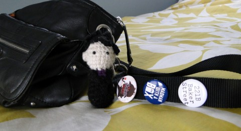 Sherlock crochet plushie by the Consulting Crafter