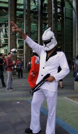 Star Wars Celebration Anaheim 2015 Saturday Night Fever Stormtrooper cosplay