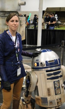 Star Wars Celebration Anaheim 2015 brookenado kotor Jedi cosplay R2D2