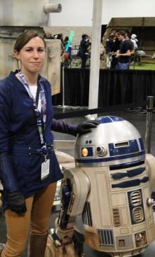 Star Wars Celebration Anaheim 2015 brookenado kotor Jedi cosplay R2D2
