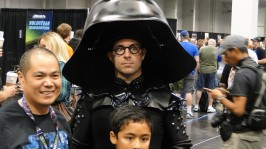 Star Wars Celebration Anaheim 2015 Dark Helmet Spaceballs cosplay