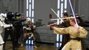 Star Wars Celebration Anaheim 2015 Jedi vs Empire cosplay group photo