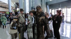 Star Wars Celebration Anaheim 2015 Return of the Jedi group copslay + Indiana Jones