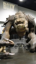 Star Wars Celebration Anaheim 2015 rancor replica