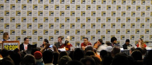 Avatar Legacy Fan Panel with Avatar Mom, Magda Bazaldua, Kevin Coppa, Giancarlo Volpe, Aaron Ehasz, Jack DeSena, Dante Bosca, and Darcy Rose Byrnes