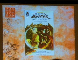 Avatar comic Dark Horse Smoke and Shadow Aang and Zuko