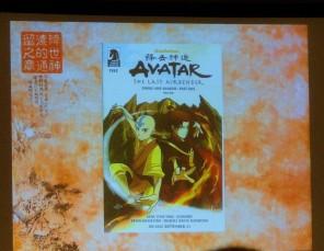 Avatar comic Dark Horse Smoke and Shadow Aang and Zuko