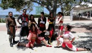 AtLA LoK Fire Nation group cosplay