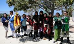 Lgend of Korra Republic City group cosplay