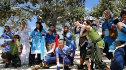 Water Tribe group cosplay meetup