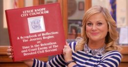 Parks and Rec Leslie Knope City Councilor Scrapbook